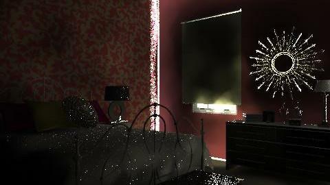 Red Vintage - Vintage - Bedroom - by cindee