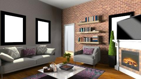 fluyl - Rustic - Living room - by Yoshi Yogataga