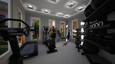 mini home gym - Modern - by jade1111