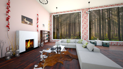 Modern Chick  - Living room - by happybuddah3