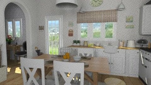 Cottage kitchen - Country - Kitchen - by Tuija