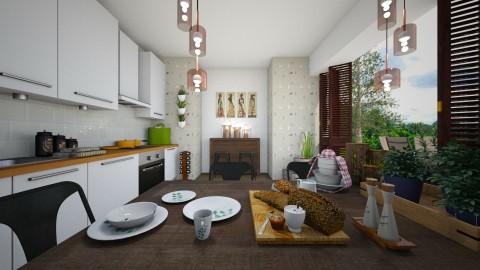 kitchen garden  - by rafita