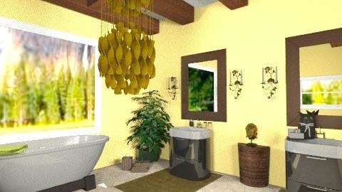 kk - Country - Bathroom - by kristiecrowndesign