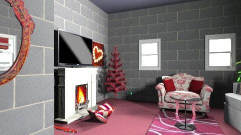 modern romance - Classic - Living room - by Sarah Adnan