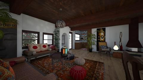 Ibiza House - Living room - by Lisett