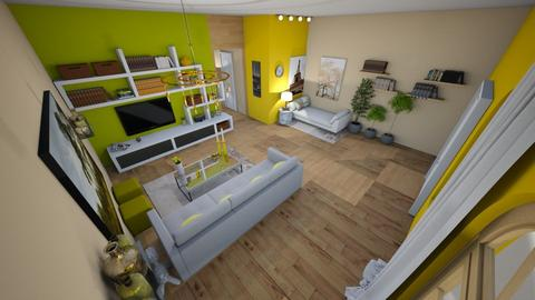 family home 115 - Modern - Living room - by Stavroula Chatzina