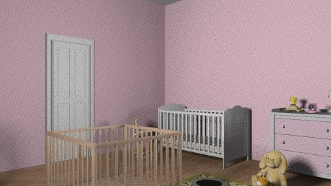 Babyy room - Glamour - Kids room - by Tiffanyy