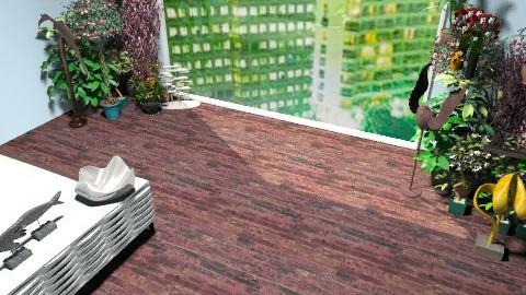 Cityscape - Minimal - Bedroom - by oscalora