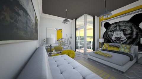 Modern Yellow - by emmaaab