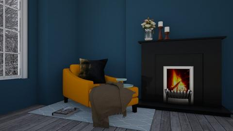 corner living - Living room - by felicia_fire