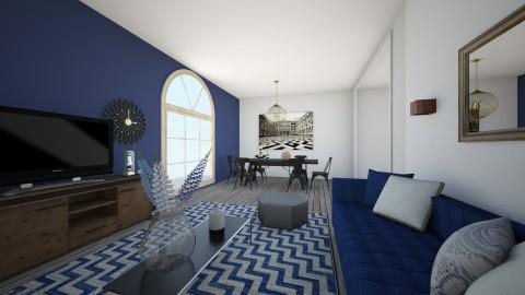 living room 3 - by valcarona