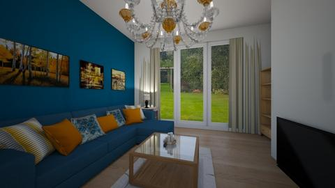 living room - by designermap