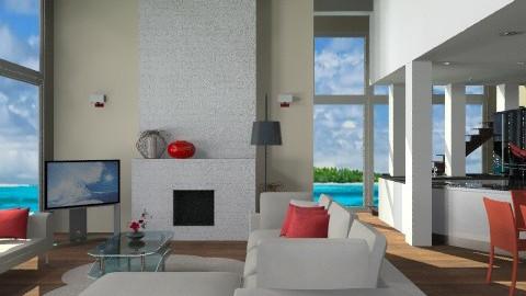 beach house - Minimal - Living room - by KittiFarkas