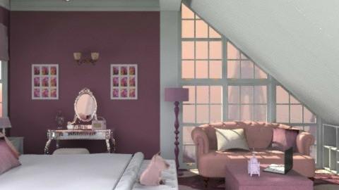 Queen of the Night - Feminine - Bedroom - by ATOMIUM