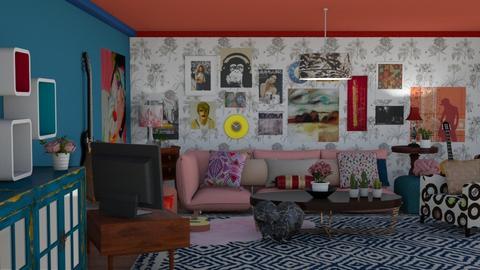 Iris Cobalt - Eclectic - Living room - by The quiet designer