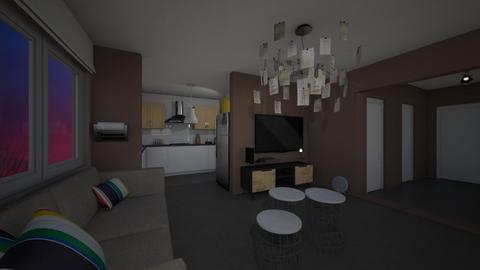 Appartement Kevin  - Living room - by Shuu Dark