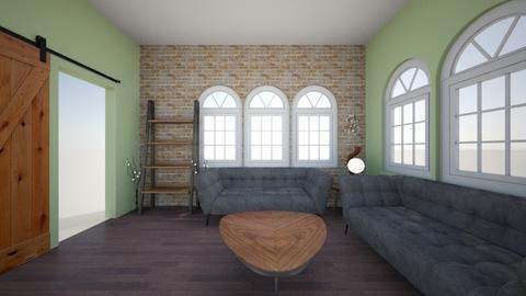 Rustic Living Room - Living room - by Yogurt yoyo