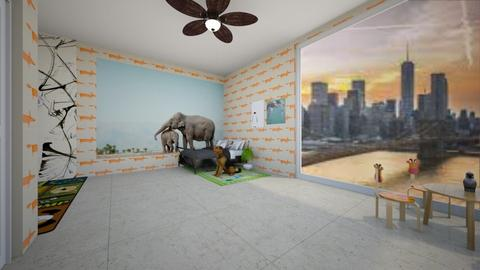 kids animal room comp - Kids room - by mbroo153