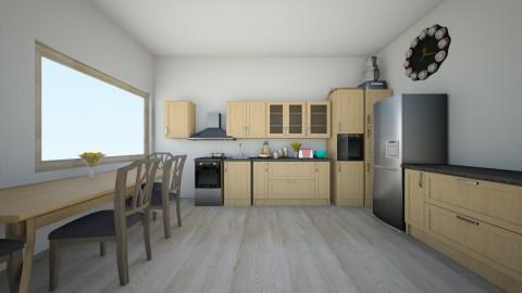 Small Kitchen - Kitchen - by linnda123222