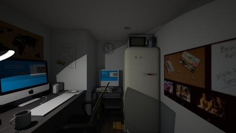 Tiny Windowless Office - Office - by SammyJPili