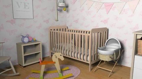 Girly Nurseryyy. - Classic - Kids room - by jadebeal