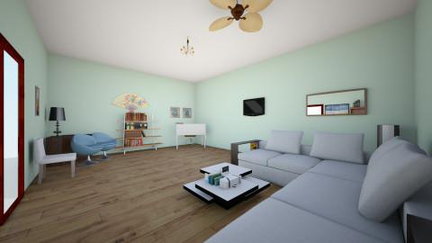Sala1 - Living room - by Emelyn Cristal Rosario