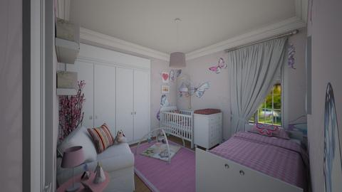 House _ Bedroom - Kids room - by Larcho1996