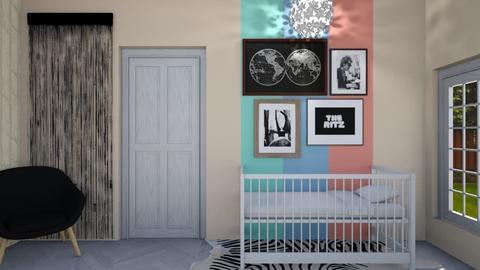 nursery3 - Kids room - by rosej