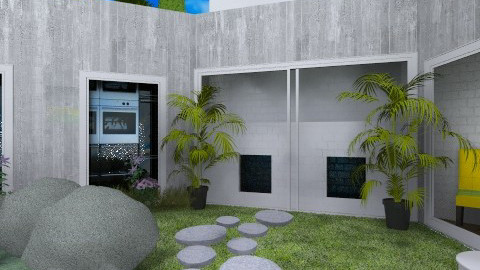 contemporary - Minimal - Garden - by Amy Neil
