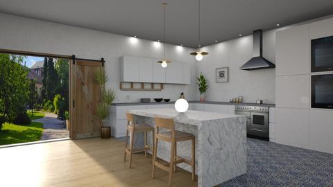 minimal  - Modern - Kitchen - by tolo13lolo