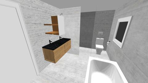 badezimmer 2 - Retro - Bathroom - by evaweisz