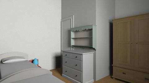 Twins option 4 b - Kids room - by gaylefirmin