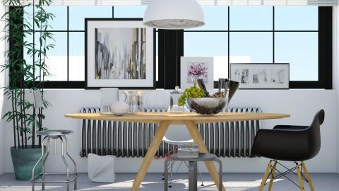 Dining Room and Wall Art - by ritsa