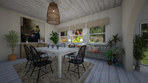 DaisyArias 4nuTerra - Dining room - by Daisy de Arias