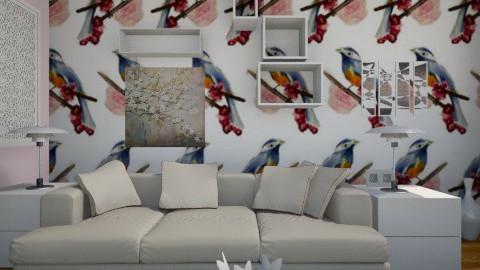 birds 2 - Modern - Living room - by beccamc