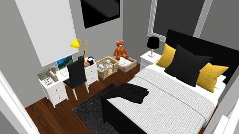 Dream Bedroom  - Minimal - by isabellaautumn