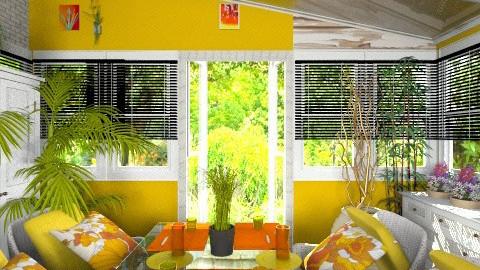garden dining room 1 - Garden - by eyeforaneye19