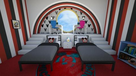 Mickey bedroom - Modern - Kids room - by deleted_1514005826_nan92