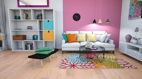 summer colors - Modern - Living room - by zayneb_17