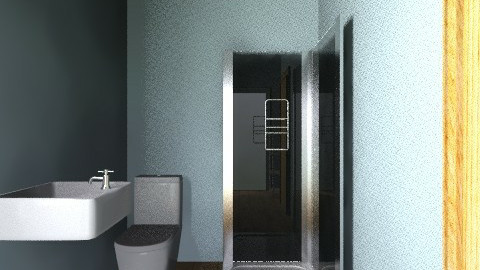 Upstairs remodel shower - Eclectic - Bathroom - by gzanman