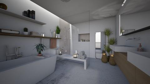 natural bathroom - Modern - Bathroom - by StienAerts