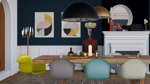 Where modern meets old - Classic - Dining room - by HenkRetro1960