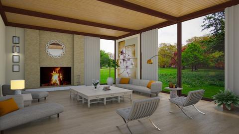 Scarlett Johansson - Eclectic - Living room - by Elenn