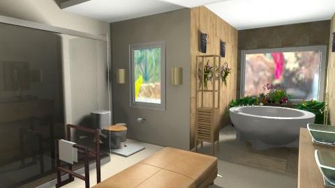 Dream Bathroom - Rustic - Bathroom - by lbarriosch