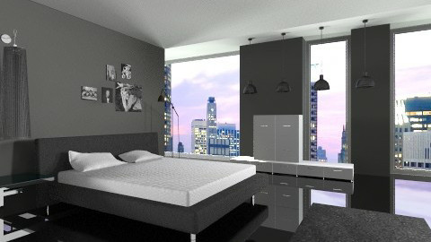 mini - Minimal - Bedroom - by Boccafella