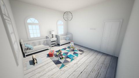 Twins Room - Rustic - Kids room - by El2002