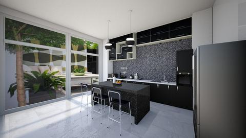 kitchen 2 - Modern - Kitchen - by exoticmokai