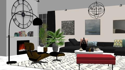 BW Shiny - Glamour - Living room - by Aymee Estrella