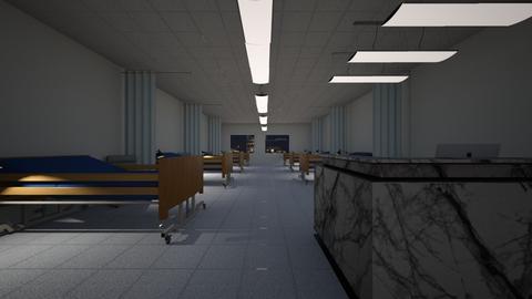 Hospital Ward 2 - Bedroom - by SammyJPili