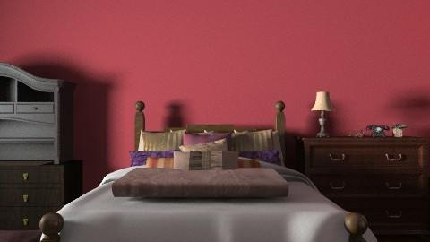 bedroom - Rustic - Bedroom - by jewels0686